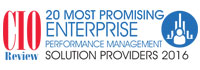 20 Most Promising Enterprise Performance Management Solution Providers 2016